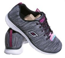 SKECHERS EQUALIZER - FIRST RATE 12033/BKW BLACK/WHITE