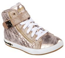 SKECHERS SHOUTOUTS QUILTED CRUSH 84308L/GLD
