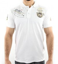 GEOGRAPHICAL NORWAY KAERO  POLO WHITE