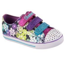 SKECHERS S LIGHT-CHIT CHAT-GLINT&GLEAM 10480L/DMLT