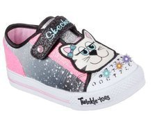 SKECHERS S LIGHTS SHUFFLES  PLAY DATES 10575N/BKPK