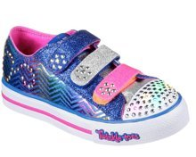 SKECHERS S LIGHTS STEP UP SPARKLE SPICE 10703L/RYHP