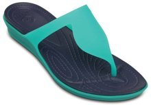 CROCS RIO FLIP W tropical teal/nautrical navy