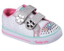 SKECHERS S LIGHTS SHUFFLES FRILLSEEKER