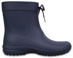 CROCS FREESAIL SHORTY RAINBOOT 203851-410 navy