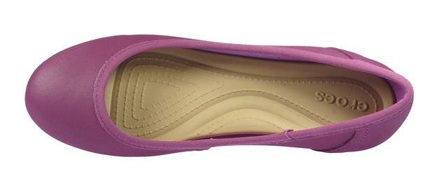 CROCS MARIN COLORLITE FLAT W plum/black