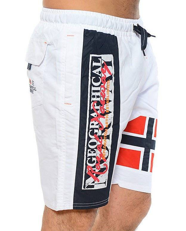 GEOGRAPHICAL NORWAY QYEROMANIA MEN SZORTY KĄPIELOWE