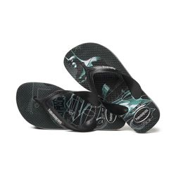 "HAVAIANAS KIDS MAX HEROIS "" BATMAN ""4.130.302 4366 ice grey / black"