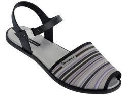 IPANEMA NEOPRINT SAND FEM BLACK STRIPED 81841 90247