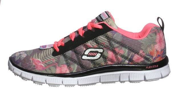 SKECHERS SKECH APPEAL-FLOAM BLOOM 81878L/BKMT