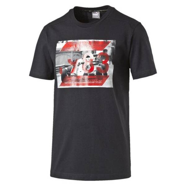 PUMA T-SHIRT FERRARI GRAPHIC TEE 570679 01 MOONIESS NIGHT
