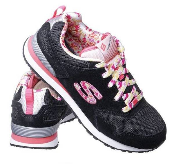 SKECHERS RETROSPECT FLORAL FANCIES 84201L/BKMT BLACK/MULTI